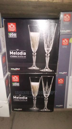 6ps Crystal Wine Glass | Kitchen & Dining for sale in Lagos State, Lagos Island (Eko)