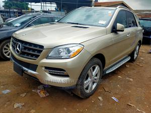 Mercedes-Benz M Class 2013 ML 350 4Matic Gold | Cars for sale in Lagos State, Ikeja