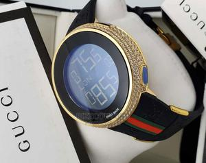 High Quality GUCCI Digital Rubber Watch Available for Sale | Watches for sale in Lagos State, Magodo