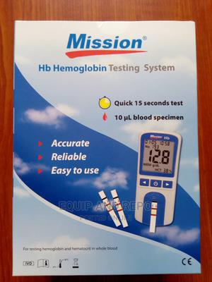 Mission Hb Meter and Strips for Hospital | Medical Supplies & Equipment for sale in Edo State, Benin City