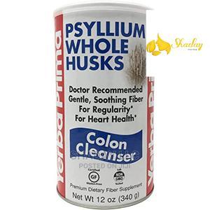 Yerba Prima Psyllium Whole Husks Colon Cleanser 12 Oz 340g | Vitamins & Supplements for sale in Lagos State, Alimosho