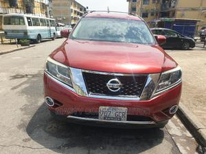 Nissan Pathfinder 2013 Platinum FWD Red | Cars for sale in Lagos State, Amuwo-Odofin