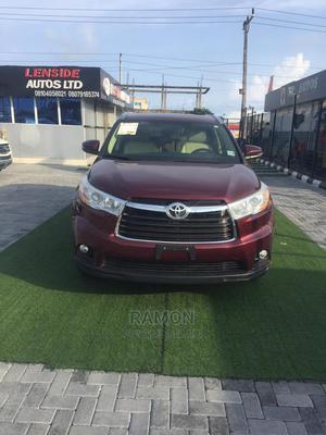 Toyota Highlander 2014 Red | Cars for sale in Lagos State, Lagos Island (Eko)