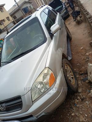 Honda Pilot 2005 Silver | Cars for sale in Lagos State, Alimosho
