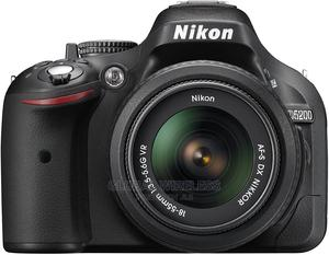 Nikon D5200 24.1 MP CMOS Digital SLR With 18-55mm F/3.5-5.6 | Photo & Video Cameras for sale in Lagos State, Ikeja