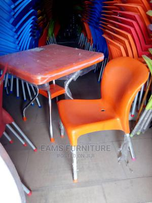 Plastic Chairs and Tables With Iron Legs | Furniture for sale in Lagos State, Lekki