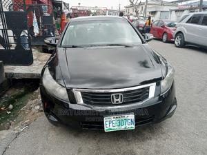 Honda Accord 2009 LX 2.4 Automatic Black | Cars for sale in Lagos State, Ikeja