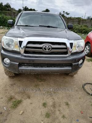 Toyota Tacoma 2010 Double Cab V6 Automatic Gray   Cars for sale in Lagos State, Amuwo-Odofin