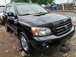 Toyota Highlander 2004 V6 FWD Black   Cars for sale in Lagos State, Apapa
