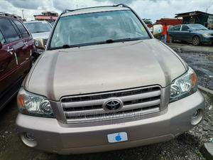 Toyota Highlander 2005 V6 4x4 Gold   Cars for sale in Lagos State, Apapa