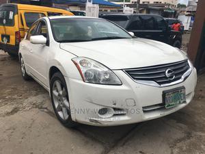 Nissan Altima 2010 2.5 S Sedan White | Cars for sale in Lagos State, Surulere