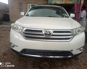 Toyota Highlander 2013 Limited 3.5l 4WD White   Cars for sale in Lagos State, Ikeja