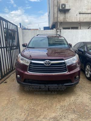 Toyota Highlander 2015 Red | Cars for sale in Lagos State, Ogba