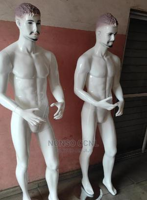 Full Body Glossy White Fibre Display Male Mannequins | Store Equipment for sale in Lagos State, Lagos Island (Eko)