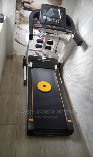 German Machine Treadmill 2.5hp With Massager   Sports Equipment for sale in Lagos State, Victoria Island