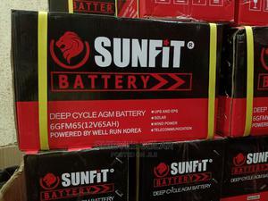 Sunfit Battery 12v/65ah   Solar Energy for sale in Lagos State, Ajah