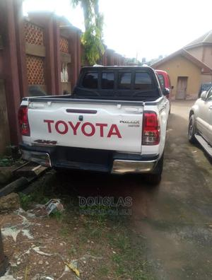 New Toyota Hilux 2019 White   Cars for sale in Lagos State, Ifako-Ijaiye