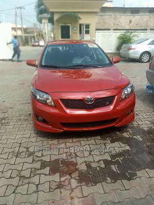 Toyota Corolla 2009 Red | Cars for sale in Lagos State, Abule Egba