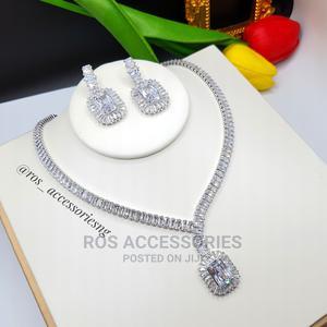 Cubic Zirconia Jewelry Set   Jewelry for sale in Delta State, Warri