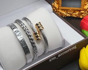 Steel Bracelet Set   Jewelry for sale in Delta State, Warri