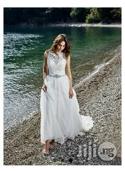Beautiful Armless Wedding Gown A-Line Concepts   Wedding Wear for sale in Lagos State, Gbagada