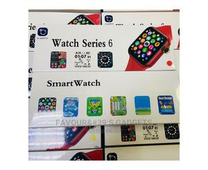 Watch Series 6 44mm BT Call Hiwatch Smartwatch   Smart Watches & Trackers for sale in Lagos State, Ikeja