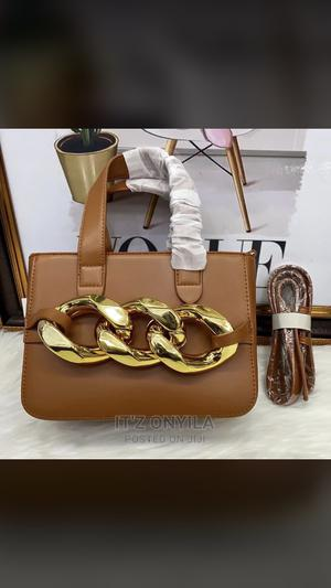 Brown Quality Leather Handbag | Bags for sale in Lagos State, Surulere