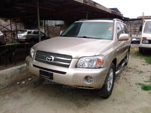 Toyota Highlander 2007 Hybrid Limited Gold   Cars for sale in Lagos State, Isolo