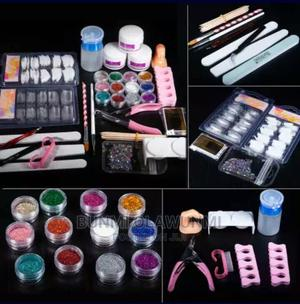 Manicure And Pedicure Kit And Acrylic Powder | Tools & Accessories for sale in Lagos State, Ikorodu