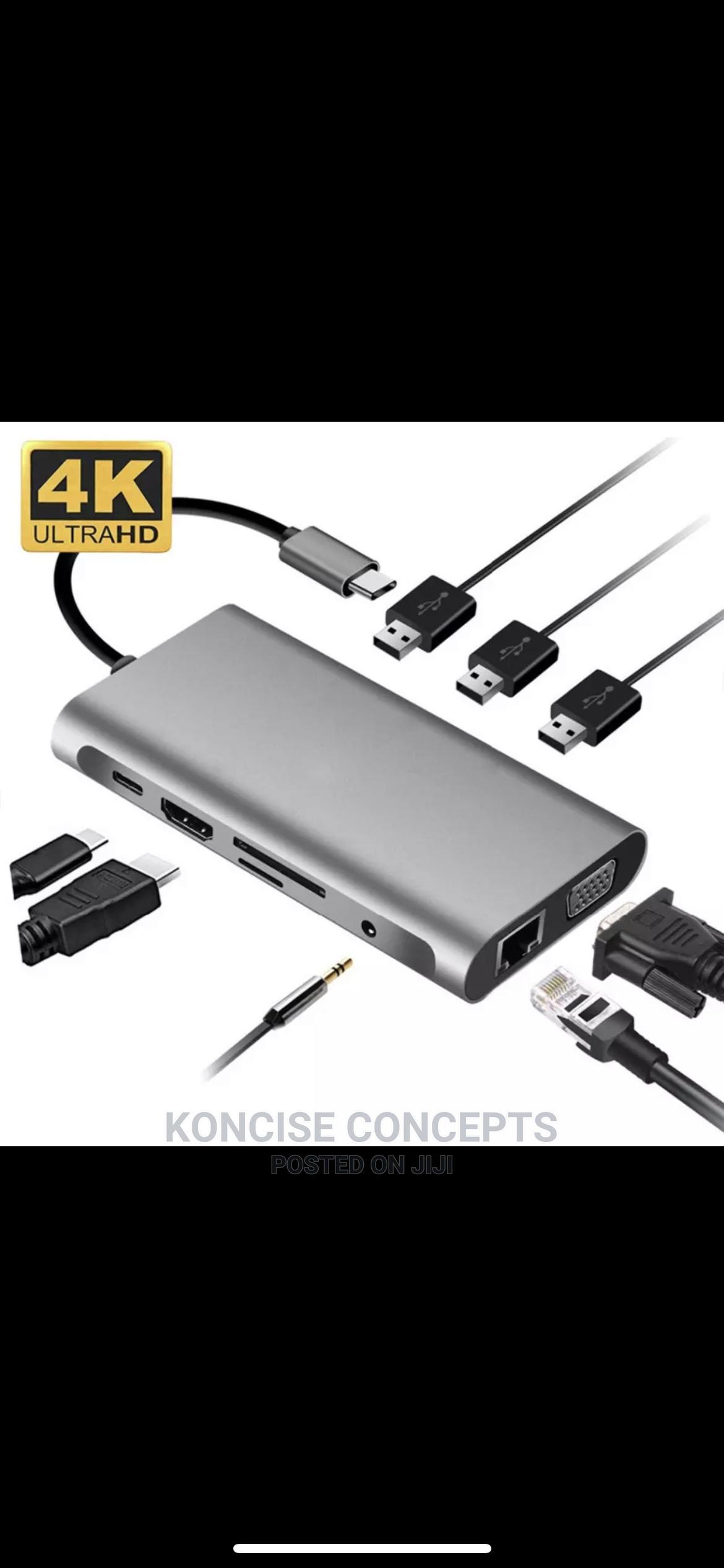 Archive: USB Type C Hub 10 in 1