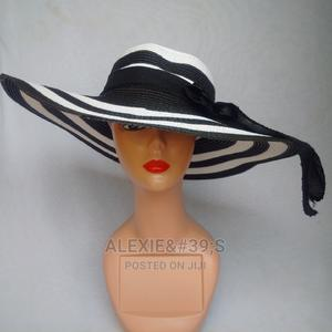Rainbow Beach Hat for Women - White and Black | Clothing Accessories for sale in Abuja (FCT) State, Kubwa