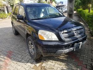 Honda Pilot 2005 EX-L 4x4 (3.5L 6cyl 5A) Black | Cars for sale in Lagos State, Amuwo-Odofin