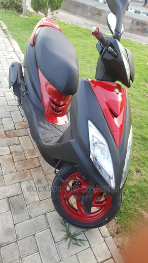 SYM Fnx 125 2017 Black | Motorcycles & Scooters for sale in Lagos State, Ikeja