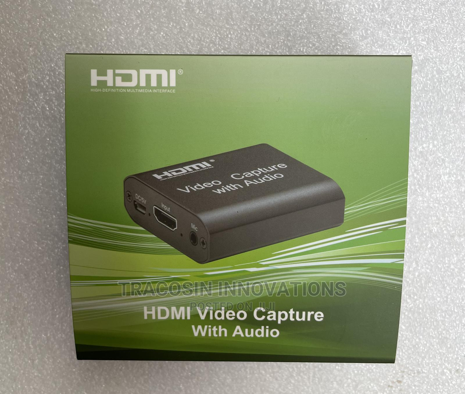 HDMI Capture Card With Audio 3.0 | Accessories & Supplies for Electronics for sale in Yaba, Lagos State, Nigeria