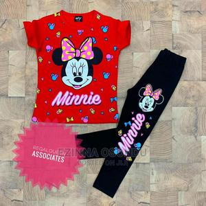 Red Top and Black Leggings   Children's Clothing for sale in Imo State, Owerri