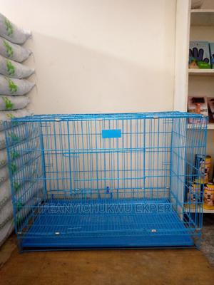 Big Collapsible Dog Cage | Pet's Accessories for sale in Abuja (FCT) State, Jabi