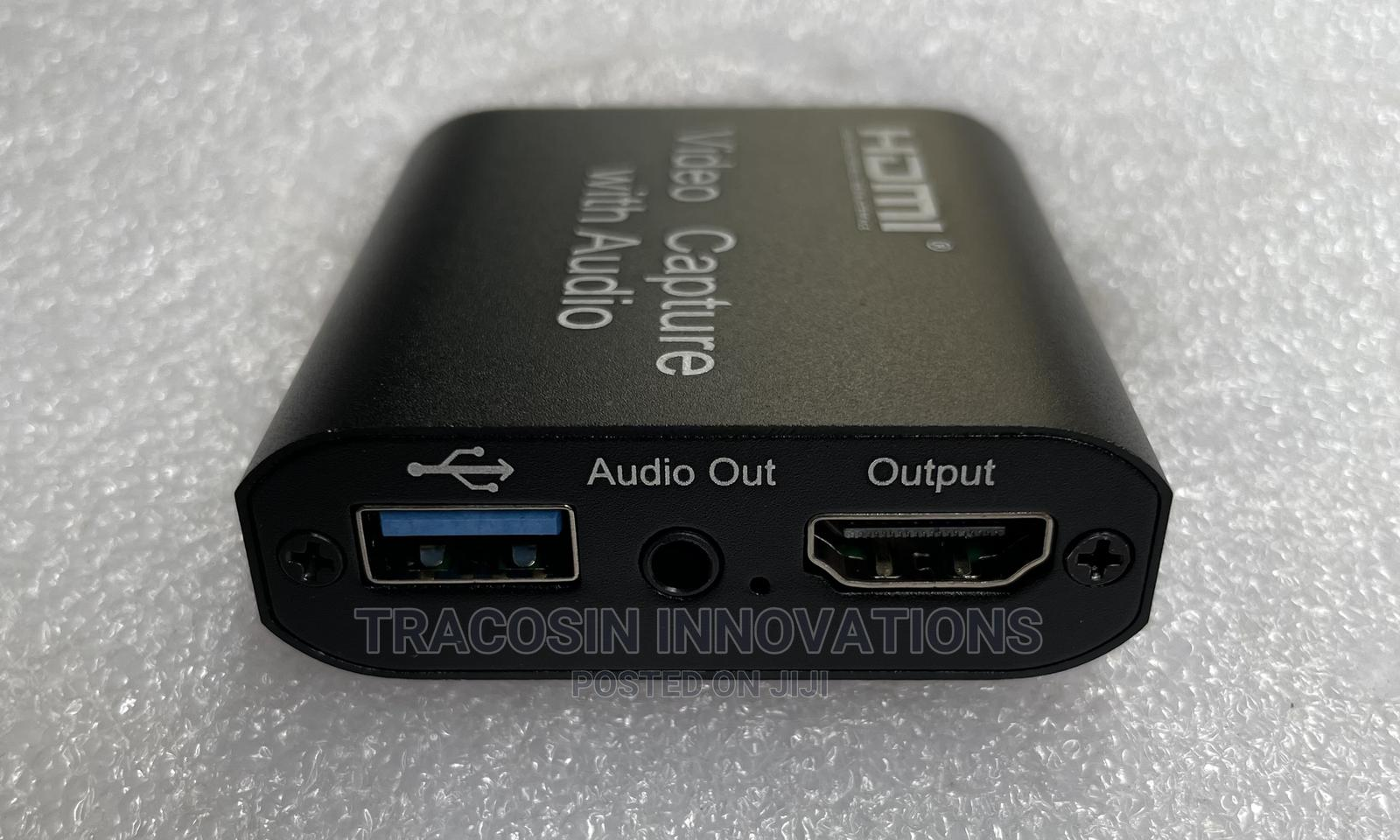 HDMI Capture Card With Audio 3.0