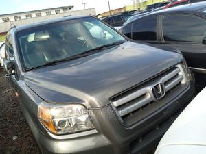 Honda Pilot 2008 VP 4dr 4x4 (3.5L 6cyl 5A) Gray | Cars for sale in Lagos State, Agege
