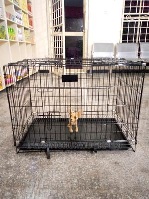 Dog Collapsible Cage (Medium) | Pet's Accessories for sale in Abuja (FCT) State, Jabi