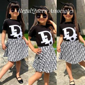 Black Top With Black and White Skirt   Children's Clothing for sale in Imo State, Owerri