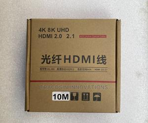 4K HDMI Cable AOC Active Optic Fibre 10m | Accessories & Supplies for Electronics for sale in Lagos State, Yaba