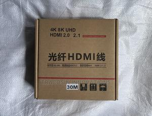 4K HDMI Cable 30m AOC Active Optic Fibre Display | Accessories & Supplies for Electronics for sale in Lagos State, Yaba