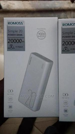 Simple 20. 20000mah Romoss Power Bank. | Accessories for Mobile Phones & Tablets for sale in Oyo State, Egbeda