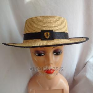 Unisex Niger-Delta Fedora Hat - Light Brown With Black Trim   Clothing Accessories for sale in Abuja (FCT) State, Kubwa