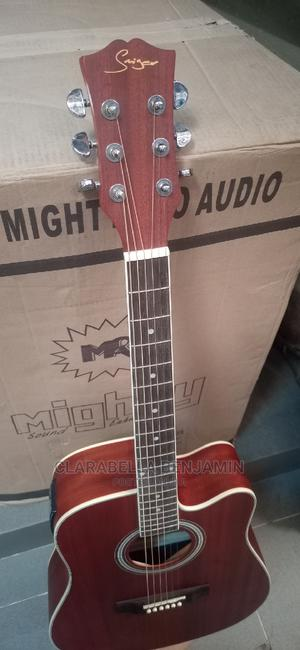 Smiger Semi Acoustic Guitar | Musical Instruments & Gear for sale in Lagos State, Ikeja