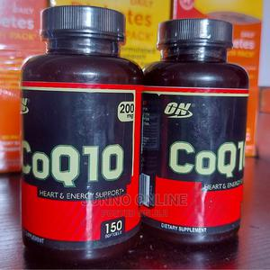 Optimum Nutrition Coq10 Heart Energy Support 200mg 150 Cap   Vitamins & Supplements for sale in Lagos State, Lekki