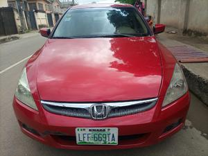 Honda Accord 2007 Red | Cars for sale in Lagos State, Surulere