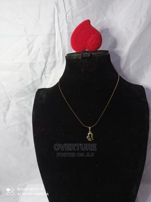 Love Gold Plated Chain and Pendant   Jewelry for sale in Lagos State, Victoria Island