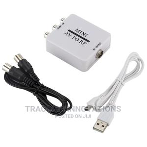AV to RF Mini Converter   Accessories & Supplies for Electronics for sale in Lagos State, Yaba