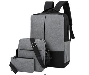 3pcs Laptop Backpack With Usb Charging Port | Computer Accessories  for sale in Lagos State, Surulere